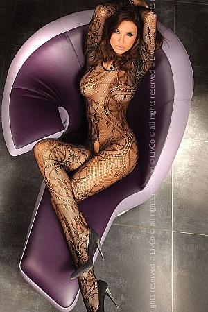 Livia Corsetti - Abra Black bodystocking LC 17086
