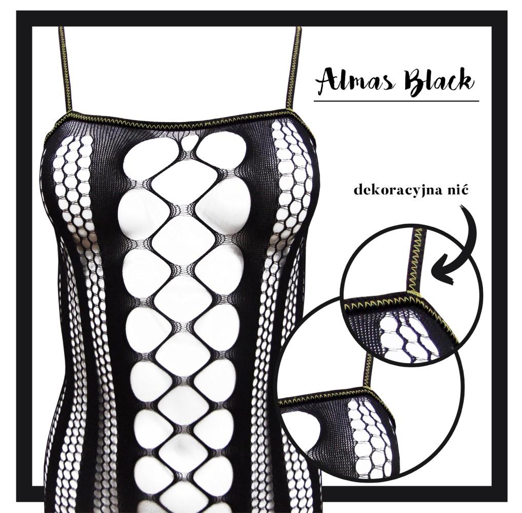Almas Black Dekoracyjna Nic LC17132