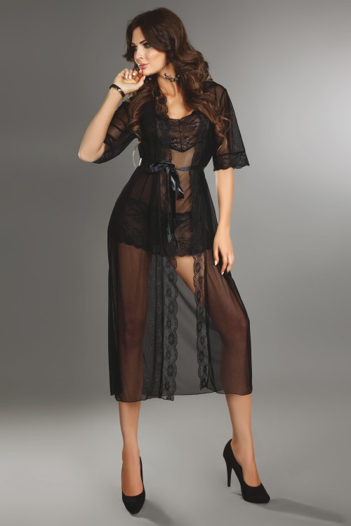 Fuksja LC 90056-1 Dressing Gown