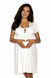 Koszulka ciążowa i do karmienia 3012 ecru - LupoLine