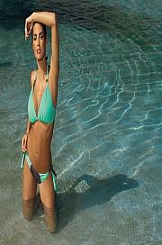Marko - Kostium kąpielowy Roxie Cubano-Seafoam Glow M-326 mięta z czekoladą  jak na zdjęciu