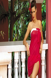 Marko - Tunika Mia Arizona M-241 Czerwona  jak na zdjęciu