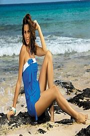 Marko - Tunika Mia Surf M-241 Niebieska  jak na zdjęciu