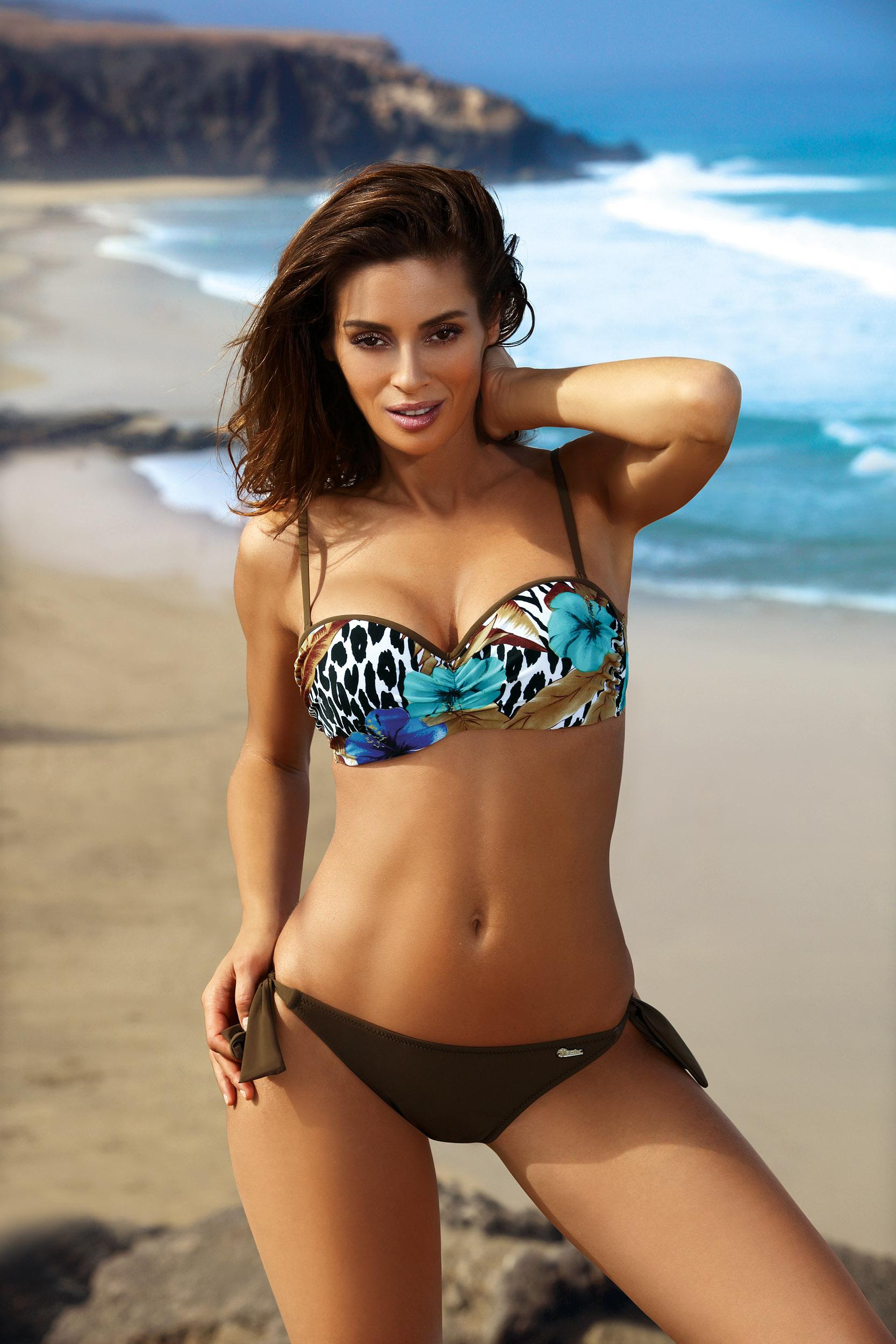 Marko - Kostium kąpielowy Becky Brown M-482   brązowy Foto 1
