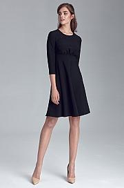 Nife - Sukienka odcięta pod linią biustu - czarny