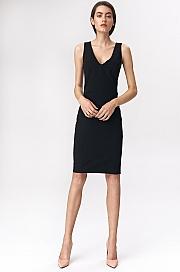 Nife - Czarna sukienka mini