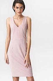 Nife - Różowa sukienka mini