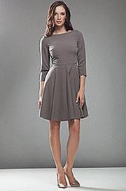 S19 mocca - sukienka - Nife
