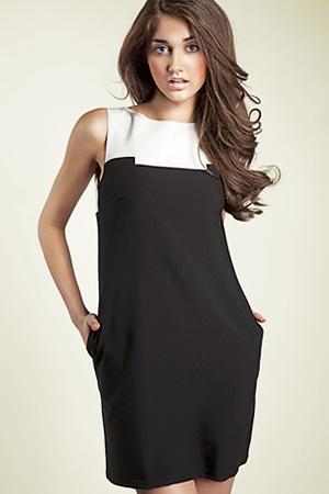 S25 - sukienka czarna - Nife
