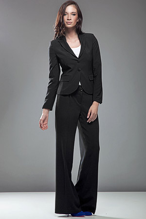 SD02 czarne - spodnie - Nife