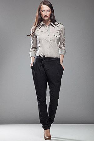 SD03 czarne - spodnie - Nife