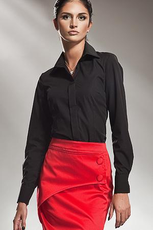 K31 czarna - koszula - Nife