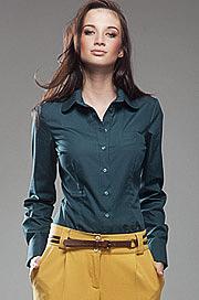 K35 zielona - koszula - Nife