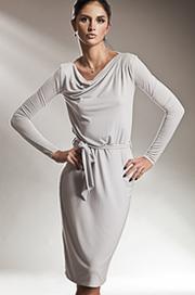 S14 szara - sukienka - Nife
