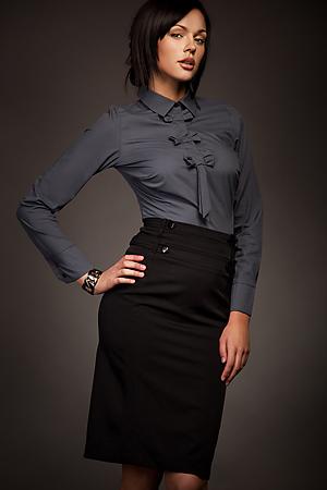 SP06 czarna - spódnica - Nife