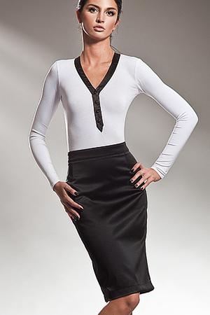 Sp09 czarna - spódnica - Nife