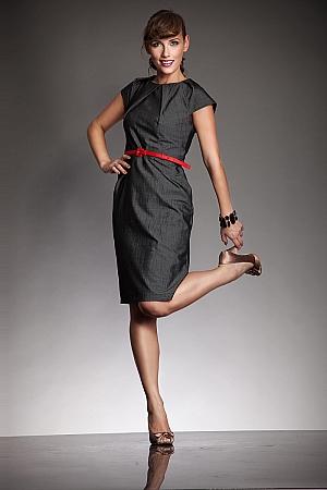 Nife - Elegancka sukienka VICTORIA - melanż