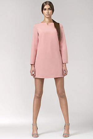 Nife - Sukienka s35 - róż