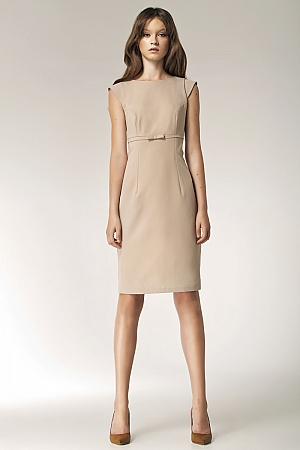 Nife - Sukienka s36 - beż