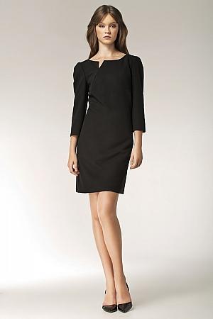 Nife - Sukienka s39 - czarny
