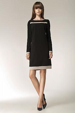 Nife - Sukienka s40 - czarny
