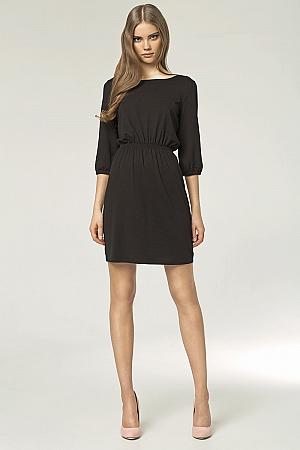 Nife - Sukienka s49 - czarny