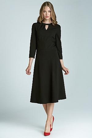 Nife - Sukienka s68 - czarny