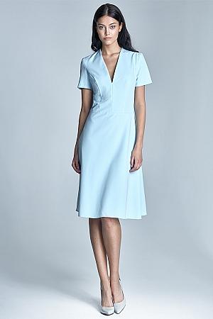Nife - Sukienka Ginny - błękit
