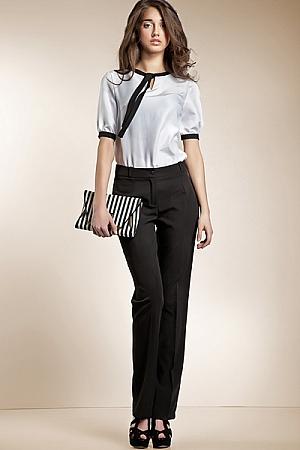Nife - Spodnie klasyczne - czarny