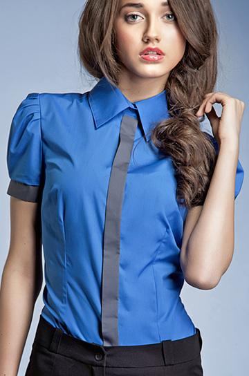 K33 - koszula niebieska - Nife