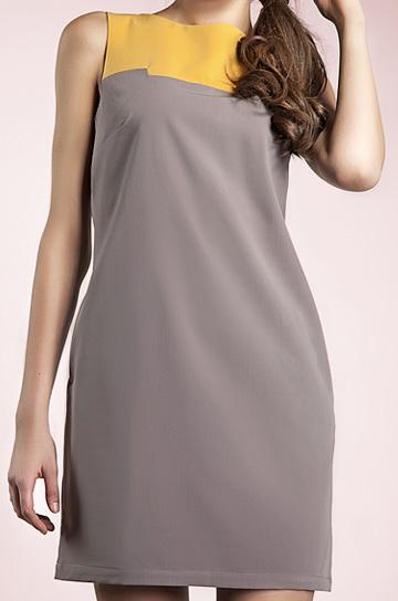 S25 - sukienka mocca - Nife