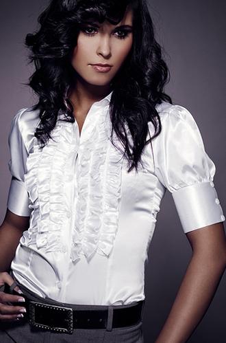 Sonia 2 K02 biała - koszula - Nife
