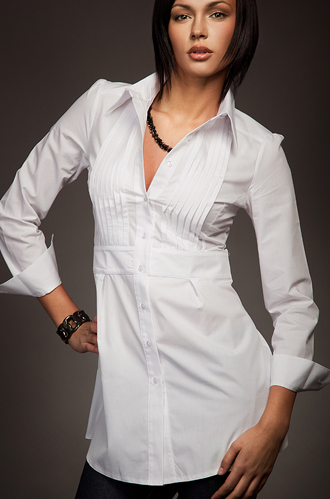 K19 biała - koszula - Nife