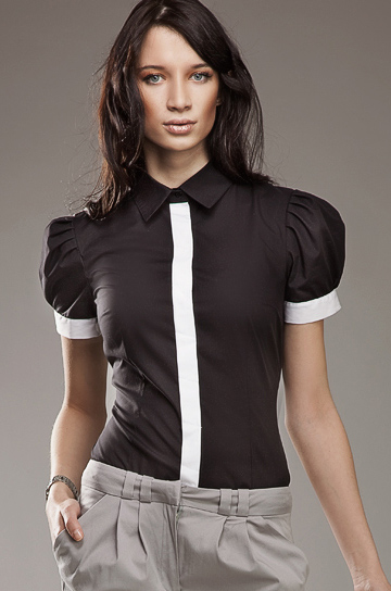 K33 czarna - koszula - Nife