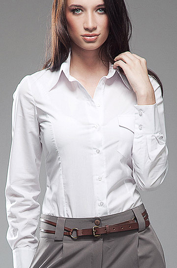 K36 biała - koszula - Nife