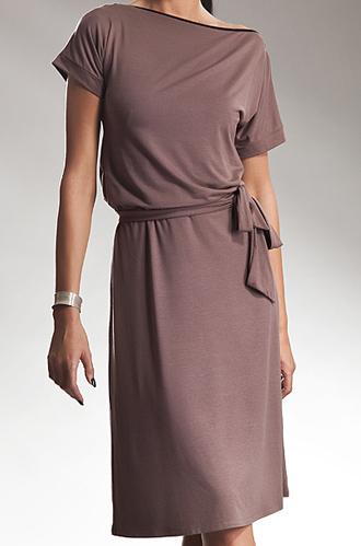 S13 mocca - sukienka - Nife