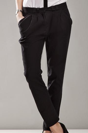 Sd01 czarne - spodnie - Nife