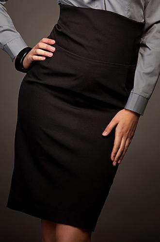 SP02 czarna - spódnica - Nife