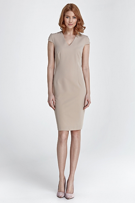 Nife - Sukienka Rosa - beż
