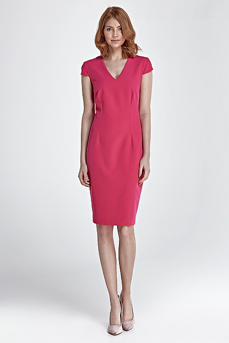 Nife - Sukienka Rosa - fuksja