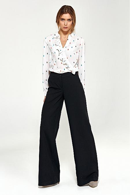 Nife - Spodnie typu palazzo - czarny