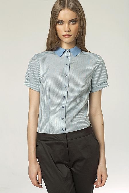 Nife - Koszula z krótkim rękawem - prążki