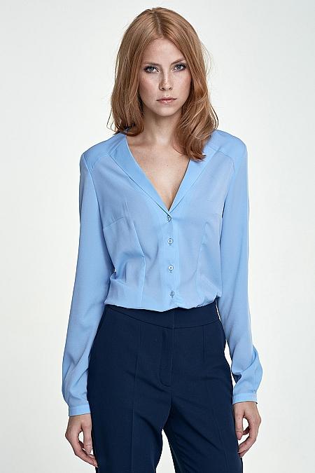 Nife - Koszula k50 - błękit