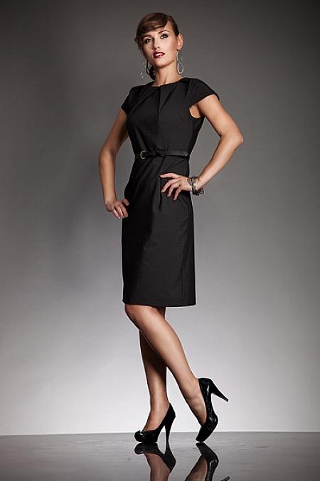 Nife - Elegancka sukienka VICTORIA- czarny