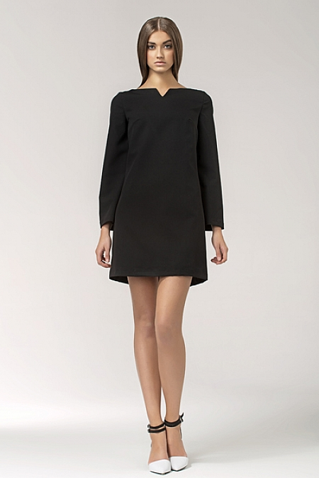 Nife - Sukienka s35 - czarny