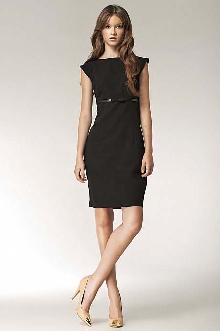 Nife - Sukienka s36 - czarny