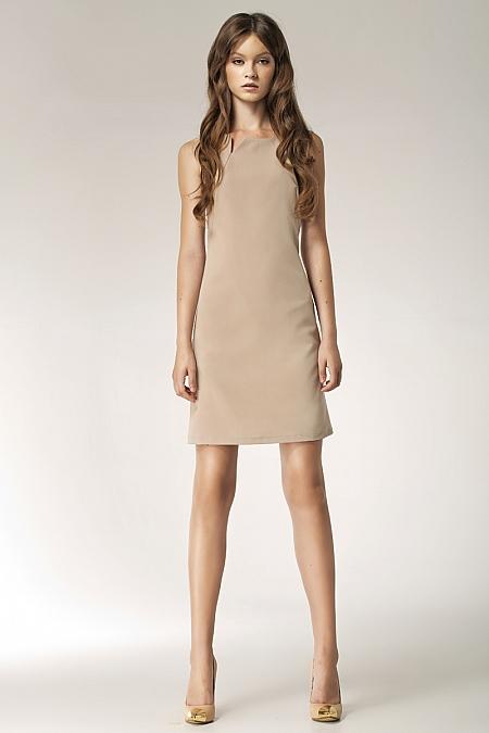 Nife - Sukienka s37 - beż