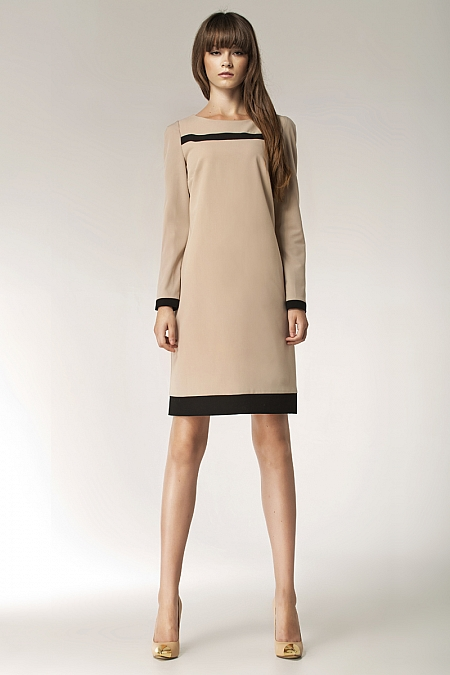 Nife - Sukienka s40 - beż