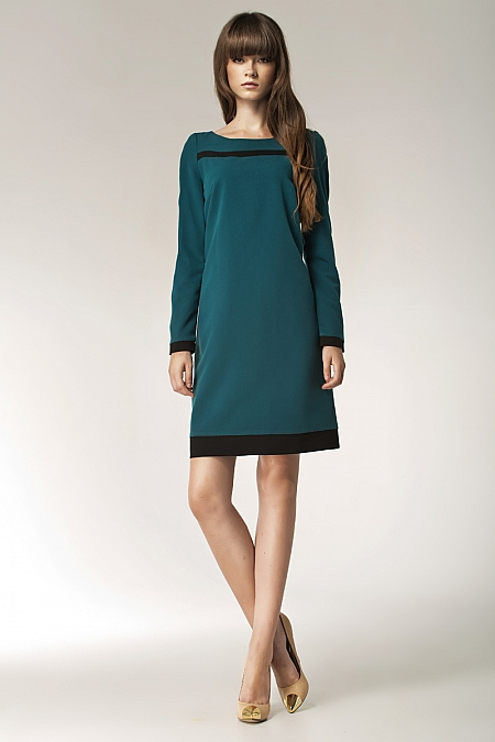 Nife - Sukienka s40 - zielony