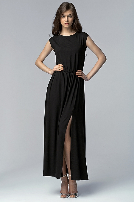 Nife - Sukienka s61 - czarny